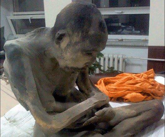 The two-century-old mummified monk found in a lotus position — and his cryptic past