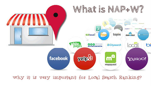 What are NAP+W and why it is very important for Local business SEO?