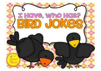 "Bird Jokes ""I Have, Who Has"" Game"