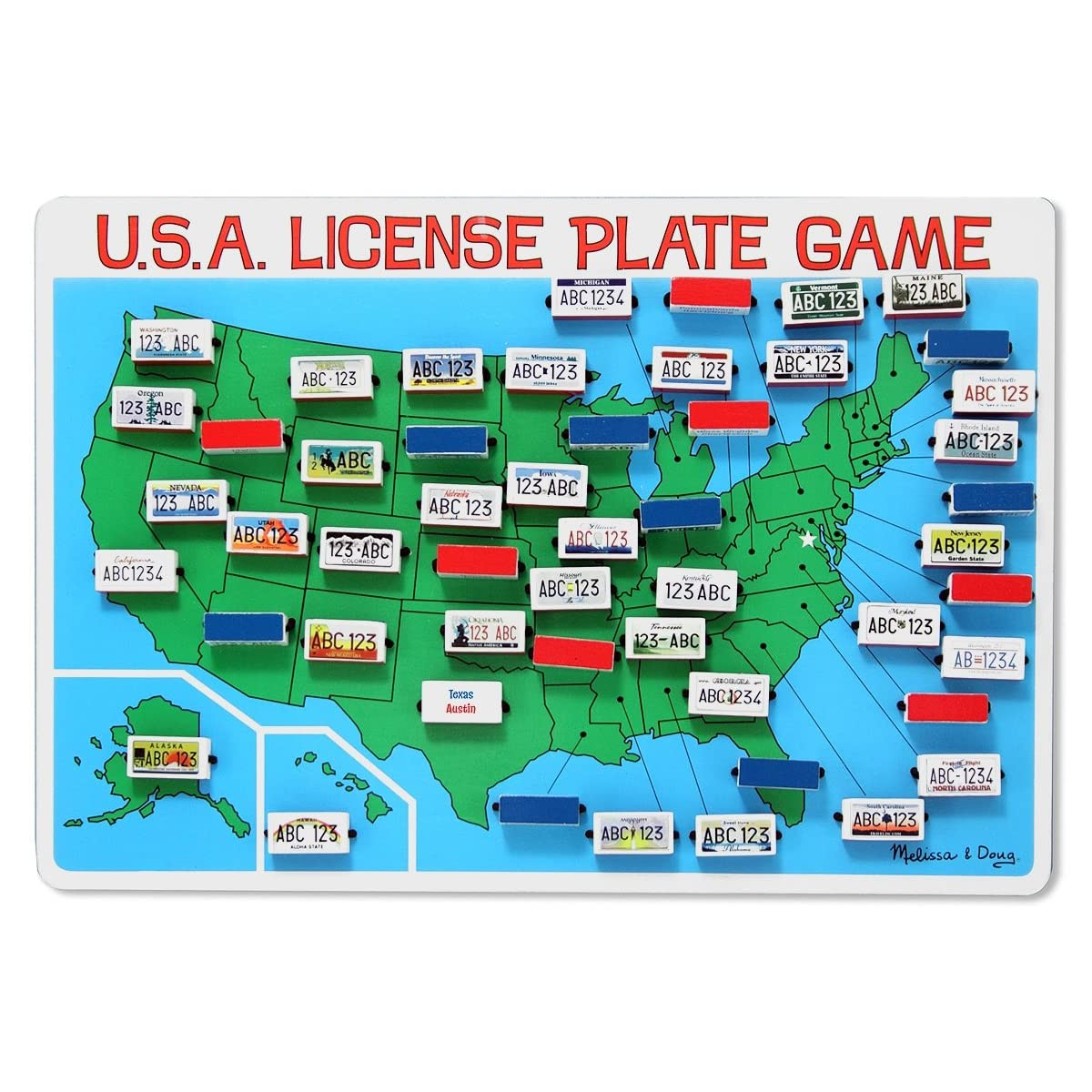Melissa and Doug's License Plate Game