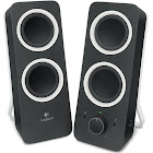 Logitech Z200 Computer Speakers - Pair - Black