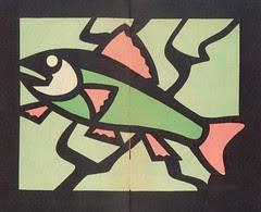 vitraux poisson