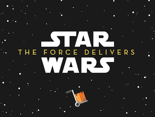 Star Wars - The Force Delivers