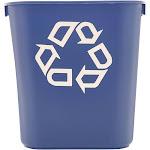 Rubbermaid - Waste basket - 3.4 gal - blue