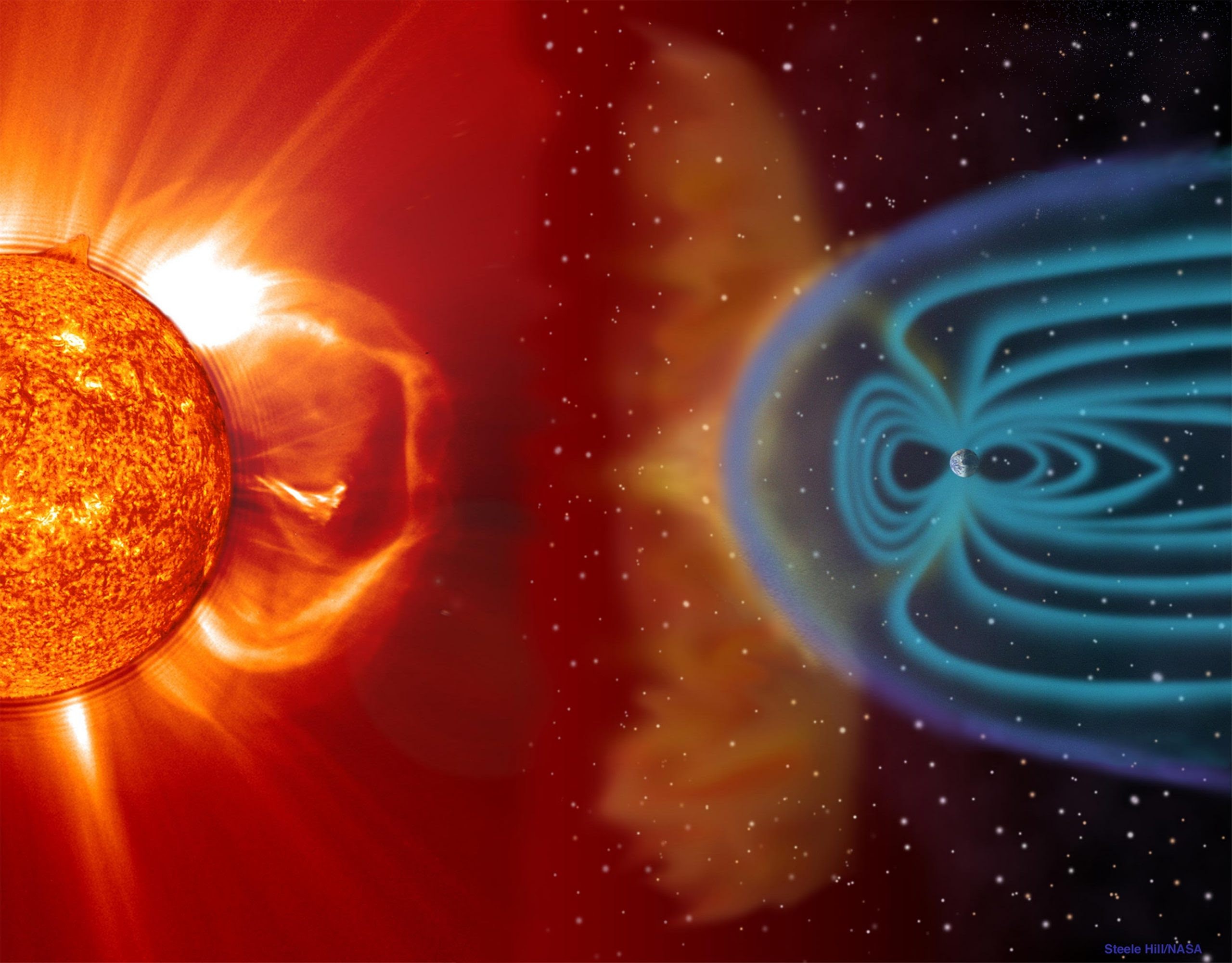 Planetary Shields Will Buckle Under Furious Stellar Winds From Their Dying Stars – Nearly Impossible for Life To Survive