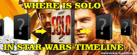 Movie Marathons Where Solo Movie Fits in Star Wars The Timeline?