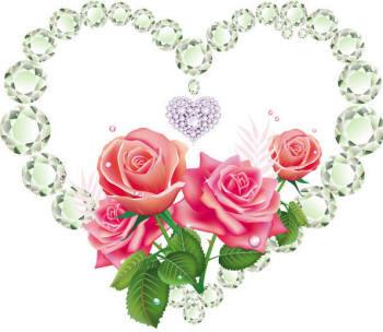 Сердце в бриллиантах