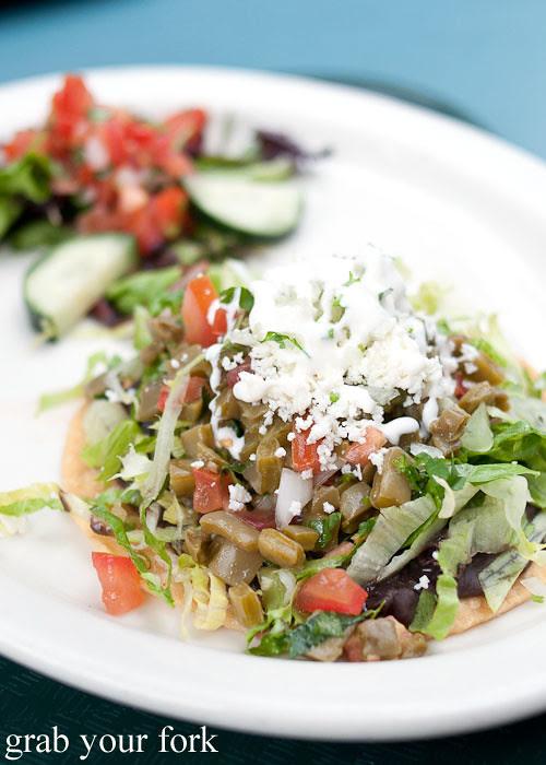 nopalitos cactus salad at loteria grill, la farmers market, los angeles