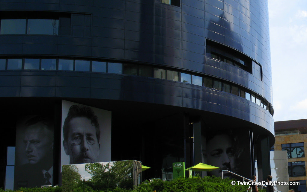 Just a small portion of the Guthrie Theater in Minneapolis. To see it in person is the way to go.