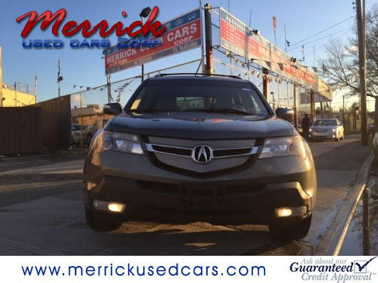 Used 2007 Acura MDX Tech Package with Rear DVD System for Sale in Springfield Gardens NY 11413 Merrick Used Cars Corp