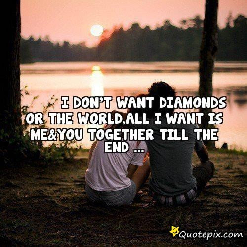 Quotes About Till The End 63 Quotes
