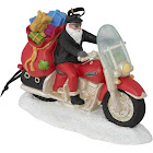Harley-Davidson Winter Custom Painted Sculpted Biker Santa Ornament HDX-99131