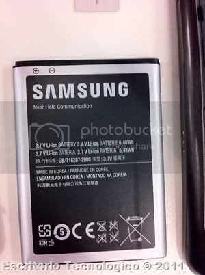 Samsung Galaxy Nexus GT-I9250 (13) - Bateria y chip NFC