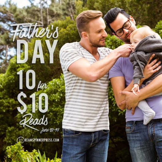 Events | Father's Day 10 for $10 | Dreamspinner Press