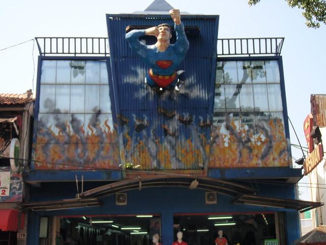 Superheroes in Cihampelas, Bandung