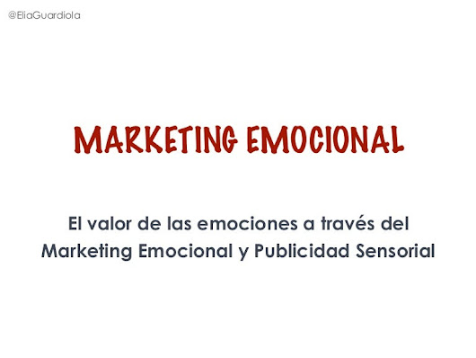 MARKETING EMOCIONAL #IMDBCN2015