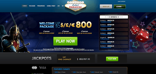 Online Slot Games and More at Jackpot Paradise Online Casino