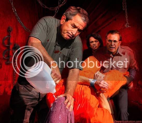 Bush Hearts Torture