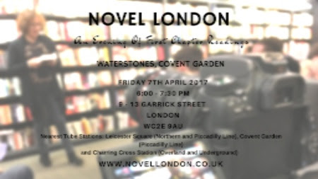 Novel London Reading at Waterstones and Free Books - Helena Halme Author