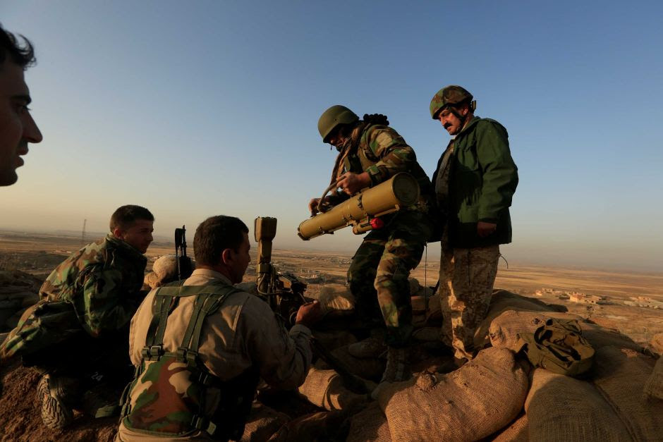 Peshmerga fights for Mosul