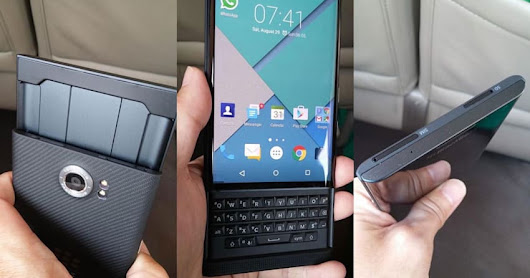 BlackBerry's Android phone will be known as the 'Priv'