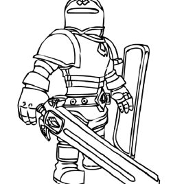 Roblox Colouring Pages Pdf