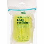Earth Therapeutics Super Loofah Body Scrubber Green