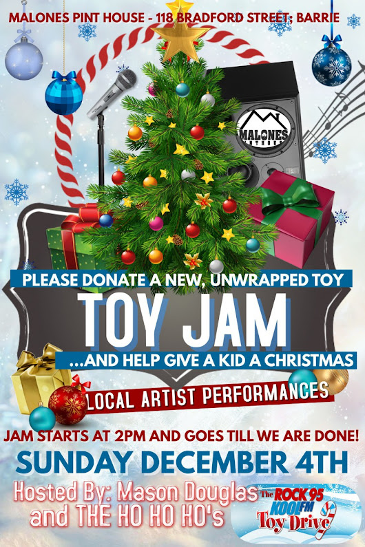 Toy Jam in Barrie, Ontario