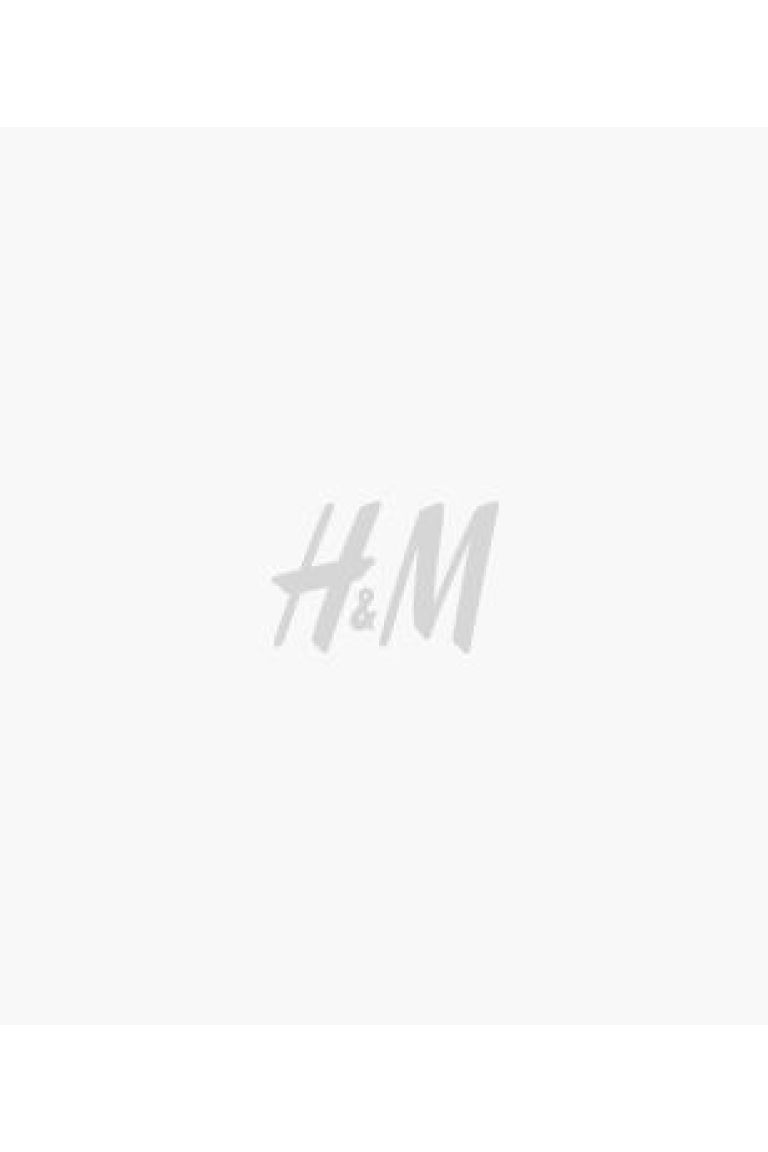 Vestido estampado - Bege claro/Floral - SENHORA | H&M PT 1