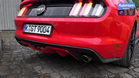 ford mustang ecoboost  gt cold start sound