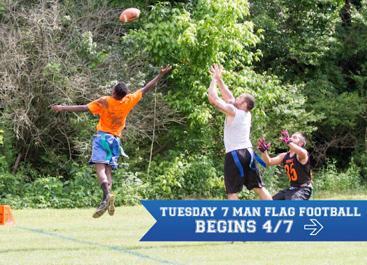 Nashville Sports Leagues - Play - Adult Coed Sports Leagues Nashville - Flag Football