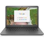 """HP 14-ca020nr 14"""" Chromebook - Celeron N3350 1.1 GHz - 4 GB RAM - 16 GB SSD - Chalkboard Gray"""