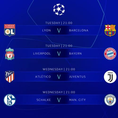 Today Fixture Champions League