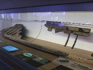 Museo ARQUA. Restos del barco Mazarron 1