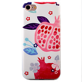 For Etui iPhone 7 / Etui iPhone 7 Plus / Etui iPhone 6 Inngravert / Monster Etui Bakdeksel Etui Frukt Myk TPU AppleiPhone 7 Plus / iPhone