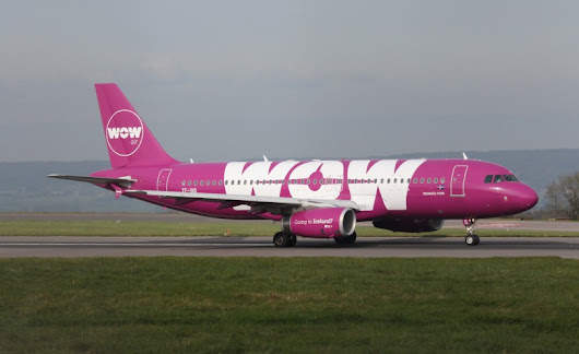 WOW air to open first international base