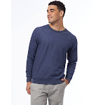 Alternative Champ Eco-Teddy Sweatshirt 2X Eco Navy , Alternative Apparel