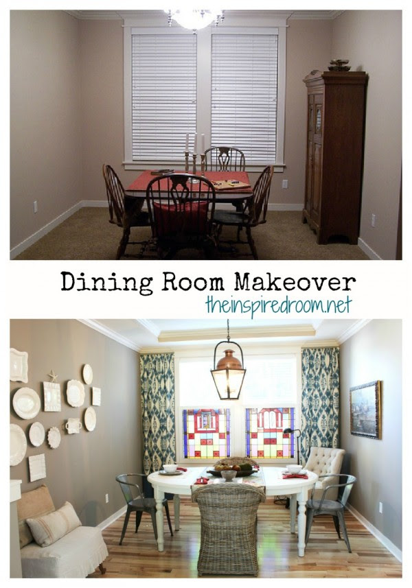 My Dining Room Makeover! An Evolution {Before & After} - The ...