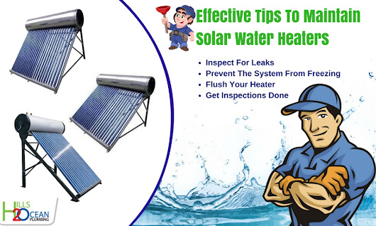 How To Maintain Solar Water Heaters?