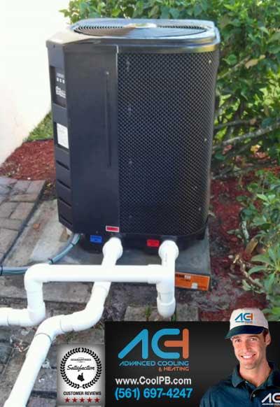 Swimming Pool Heater - Electric Heat Pump - Advanced Cooling and Heating Inc