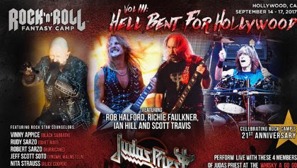 JUDAS PRIEST Is Back For 'Vol. III - Hell Bent For Hollywood' Rock 'N' Roll Fantasy Camp