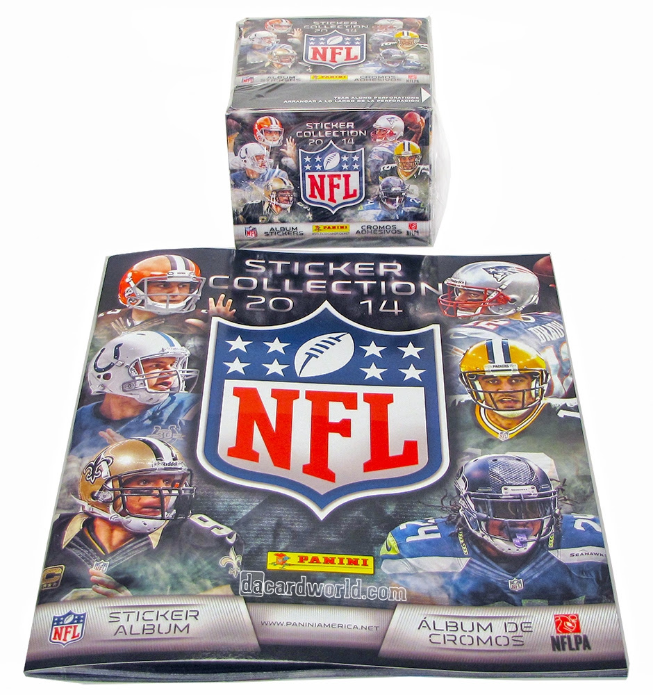 2014 Panini NFL Football Sticker Box  Album  DA Card World