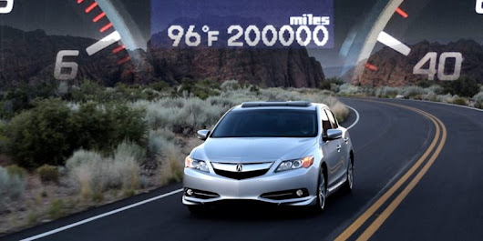 Video: Putting 200,000 Miles on a 2013 Acura ILX – Acura Connected