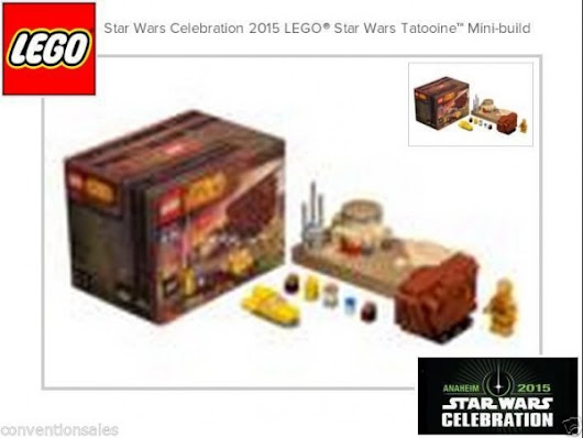 ToyzMag.com » Un mini set LEGO exclu pour la Star Wars Celebration