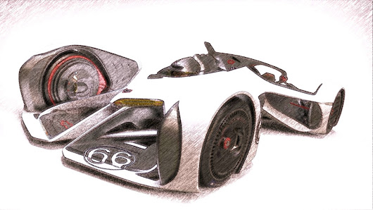 Project : Chevrolet Chaparral 2X VGT Concept - Visual Designer