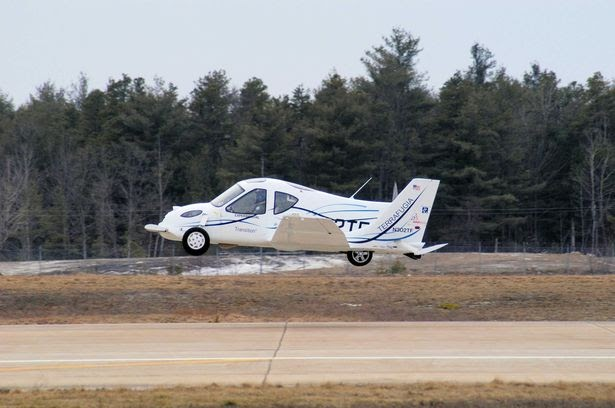 World's first flying car that can travel at 100mph cleared for take-off