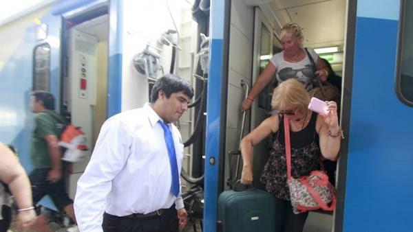 Llegada a Córdoba. El servicio desde Retiro quedó habilitado a principios de marzo.Foto: Daniel Cáceres