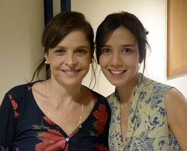 Drica Moraes e Marjorie Estiano: Sai uma, entra a outra  (Foto: reprodução)