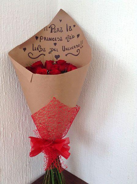 Arreglos De Rosas Con Papel Craft Www Imagenesmy Com