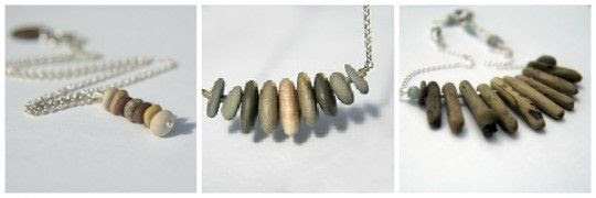 BeachPebbleJewellery.2 540x180 {beautiful to me} Beach Pebble Jewellery from Eden Dreams